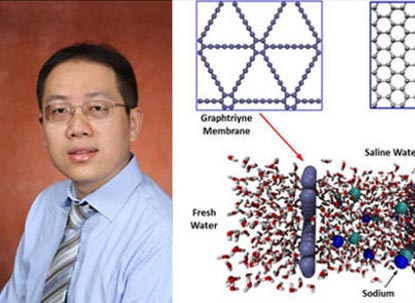 Shangchao Lin, assistant professor at the FAMU-FSU College of Engineering