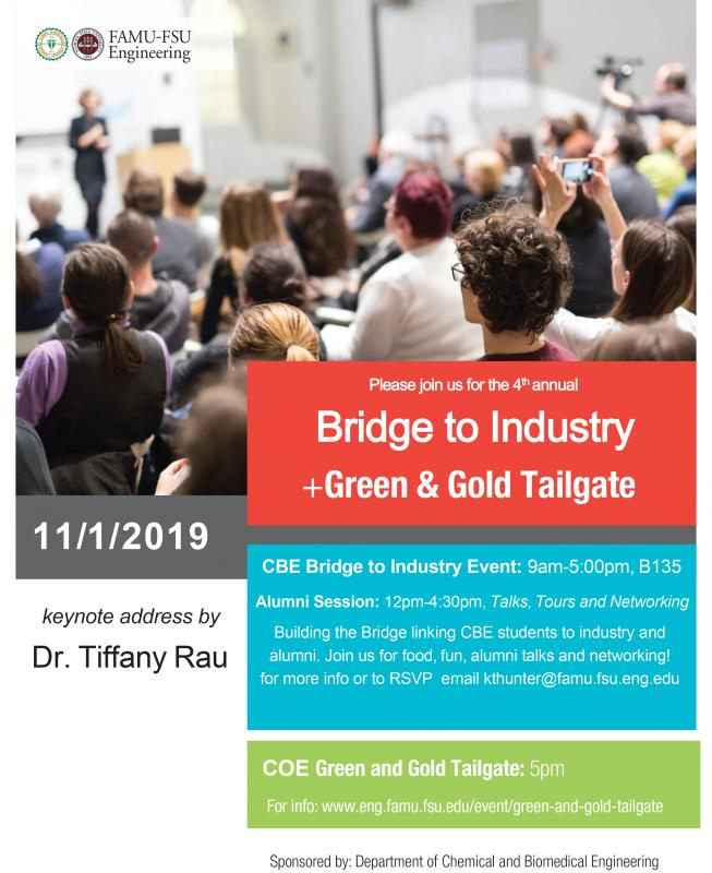 Bridge to Industry Event Flyer