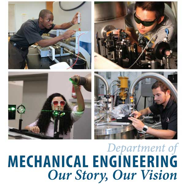 Mechanical Engineering - Our Story, Our Vision