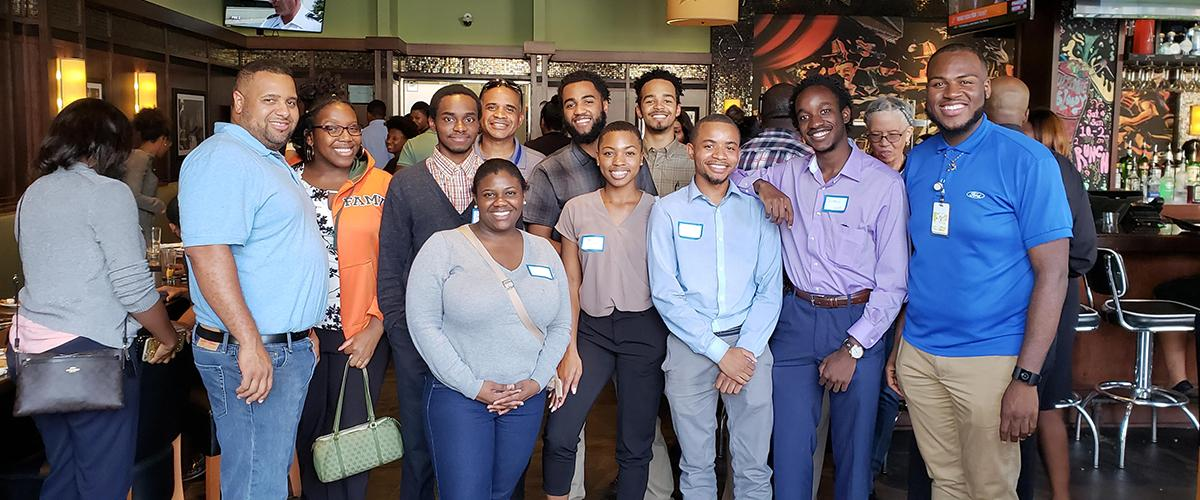 2018 Ford interns from FAMU-FSU College of Engineering